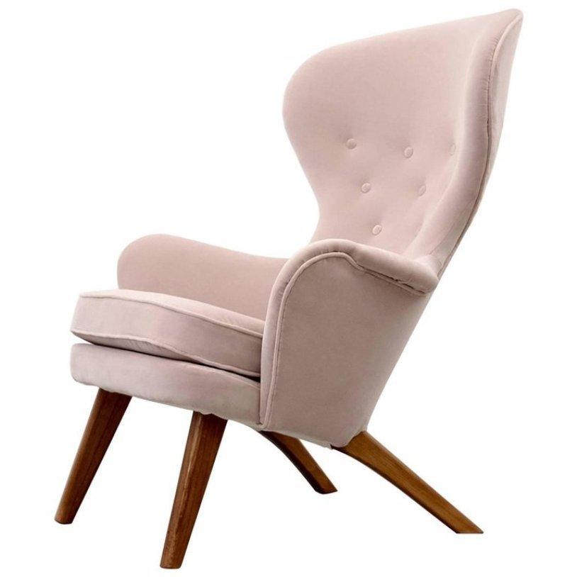 sessel mit hoher r ckenlehne von carl gustav hiort af orn s 1950er bei pamono kaufen. Black Bedroom Furniture Sets. Home Design Ideas