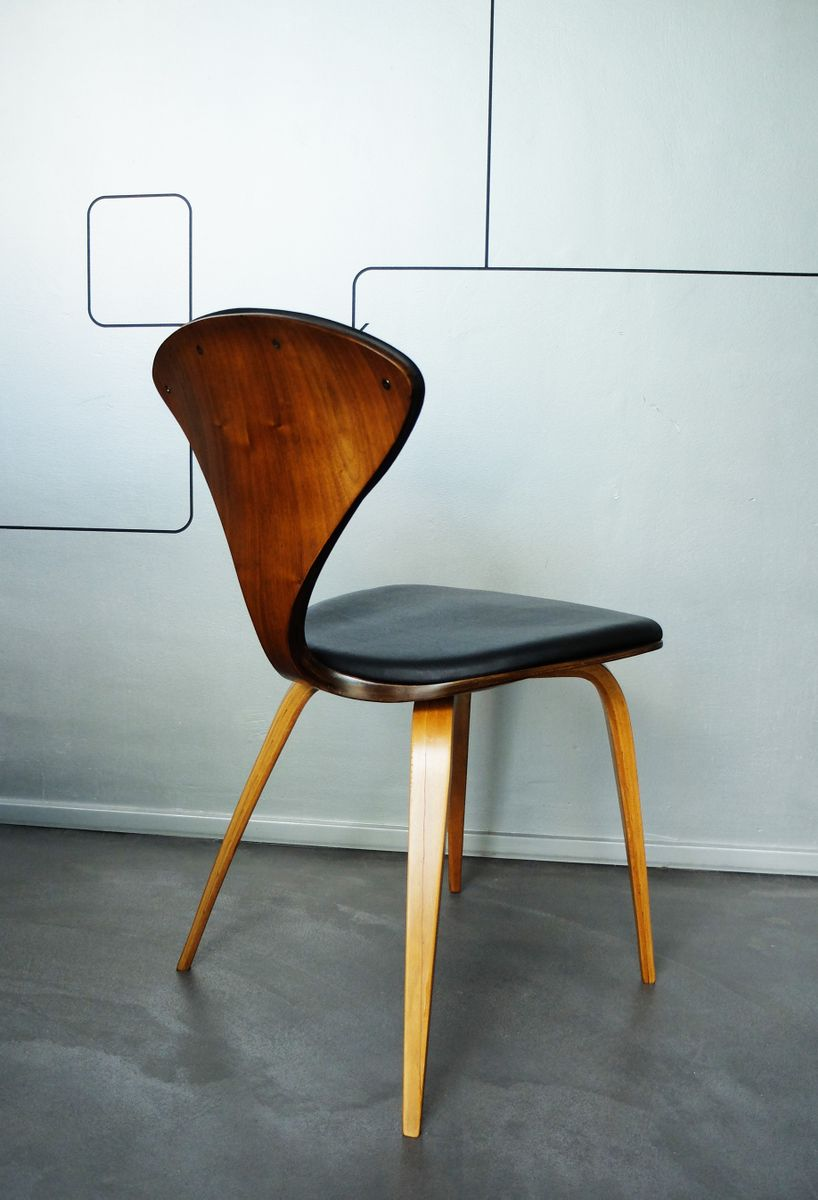 Vintage Plywood Chair By Norman Cherner For Plycraft