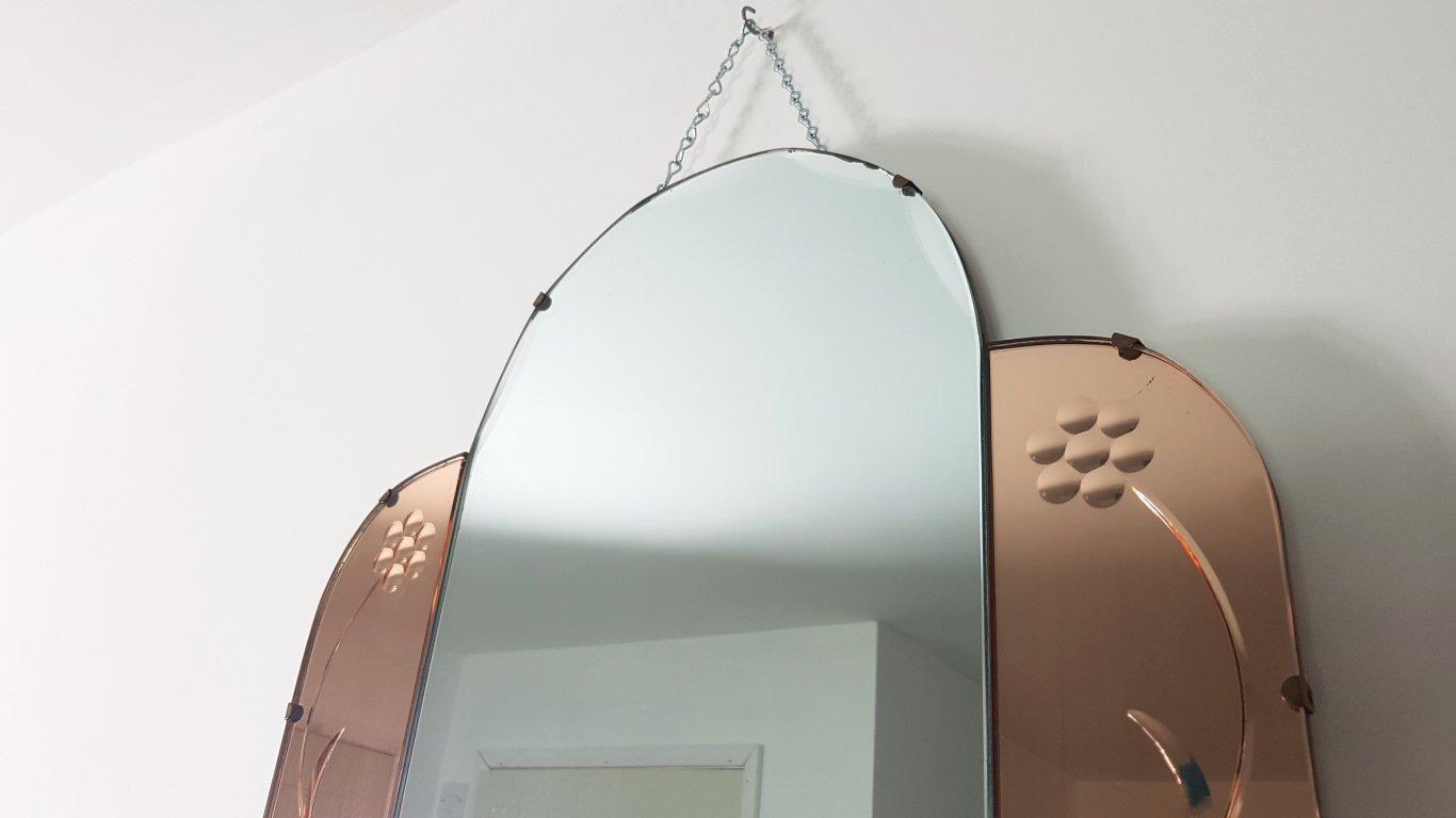 Specchio vintage senza cornice in vendita su pamono - Specchio senza cornice ...