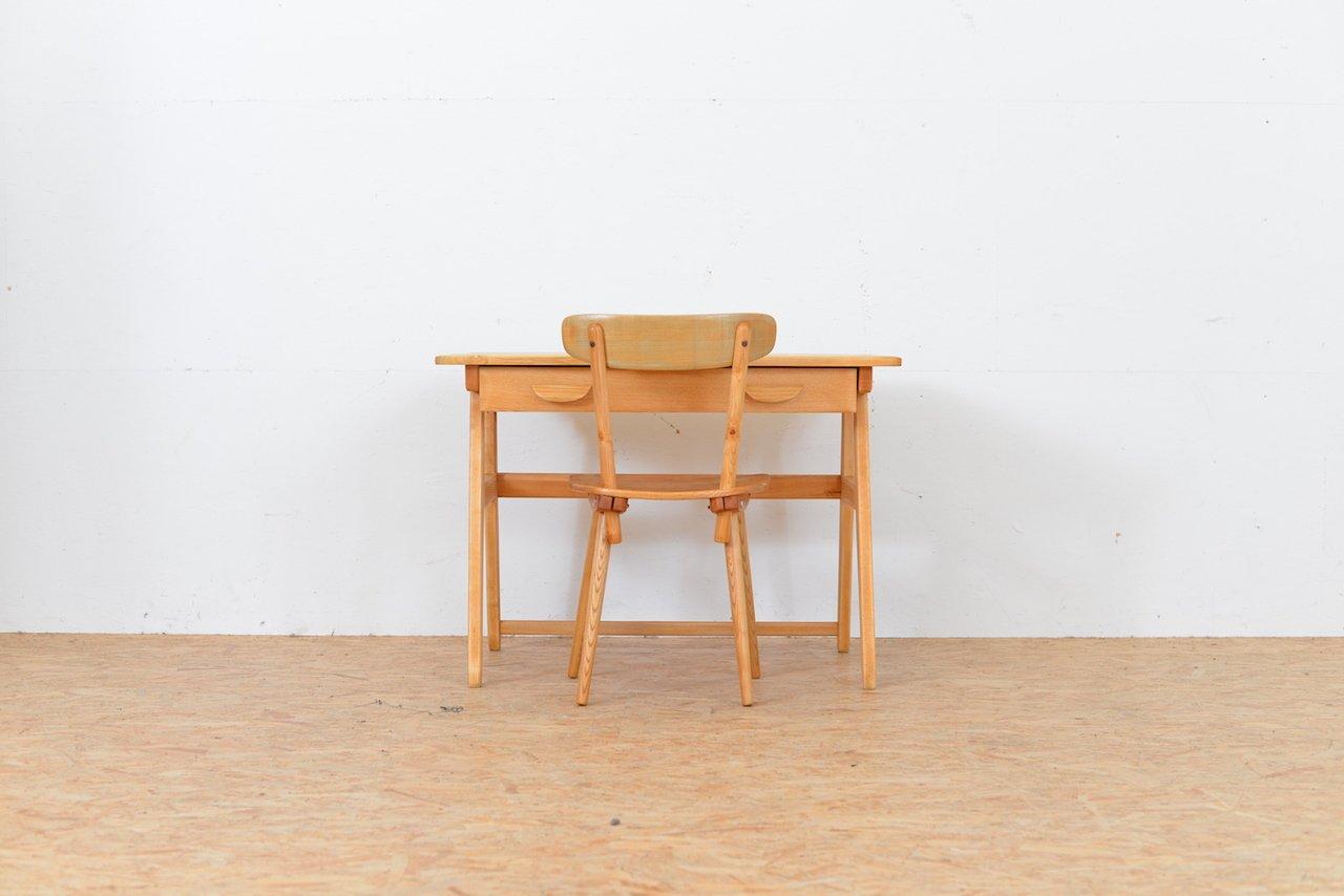 Vintage schreibtisch und stuhl von jacob m ller f r for Stuhl designklassiker vintage