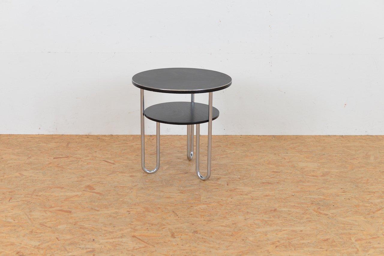 vintage tisch mit schlaufen tischbeinen von bigla bei. Black Bedroom Furniture Sets. Home Design Ideas