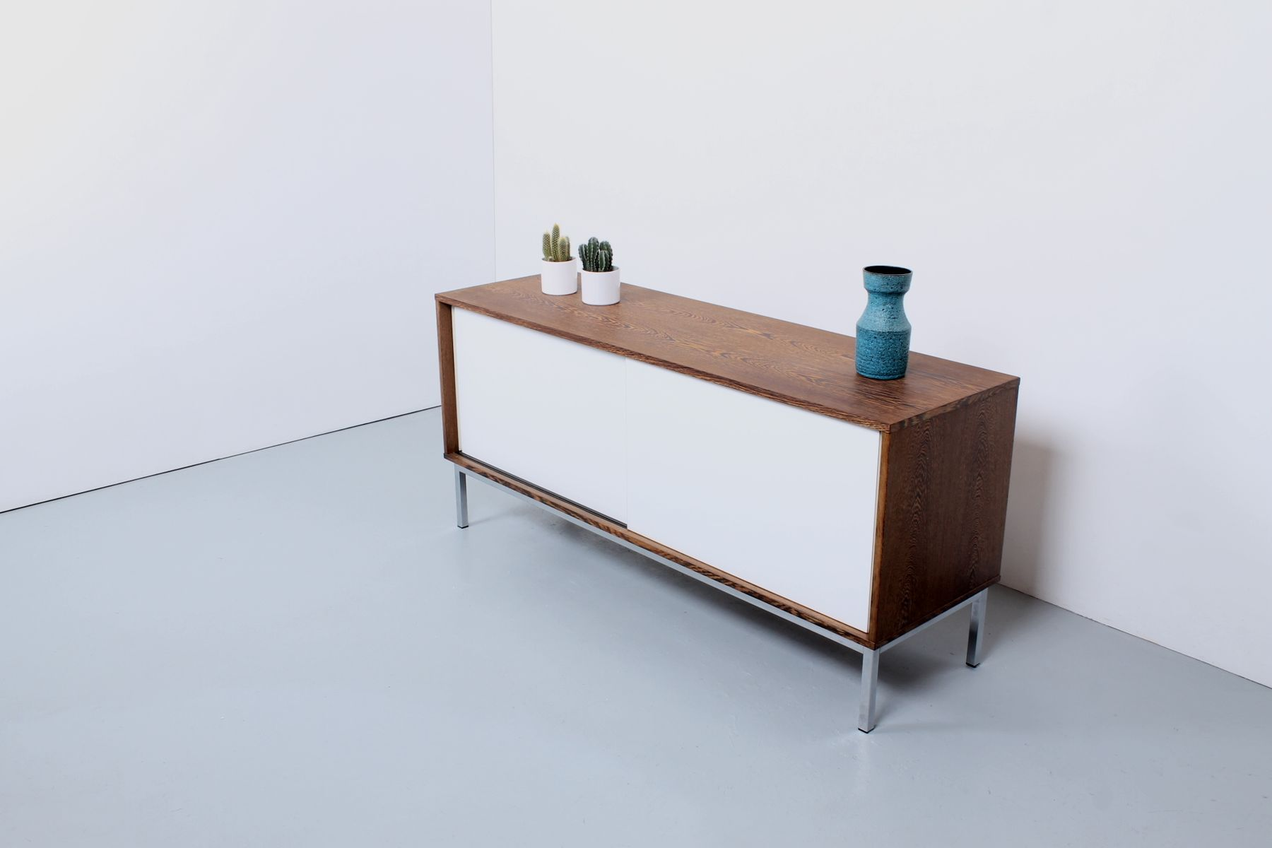 vintage kw 87 sideboard in wenge veneer and white formica by martin visser for 39 t spectrum for. Black Bedroom Furniture Sets. Home Design Ideas