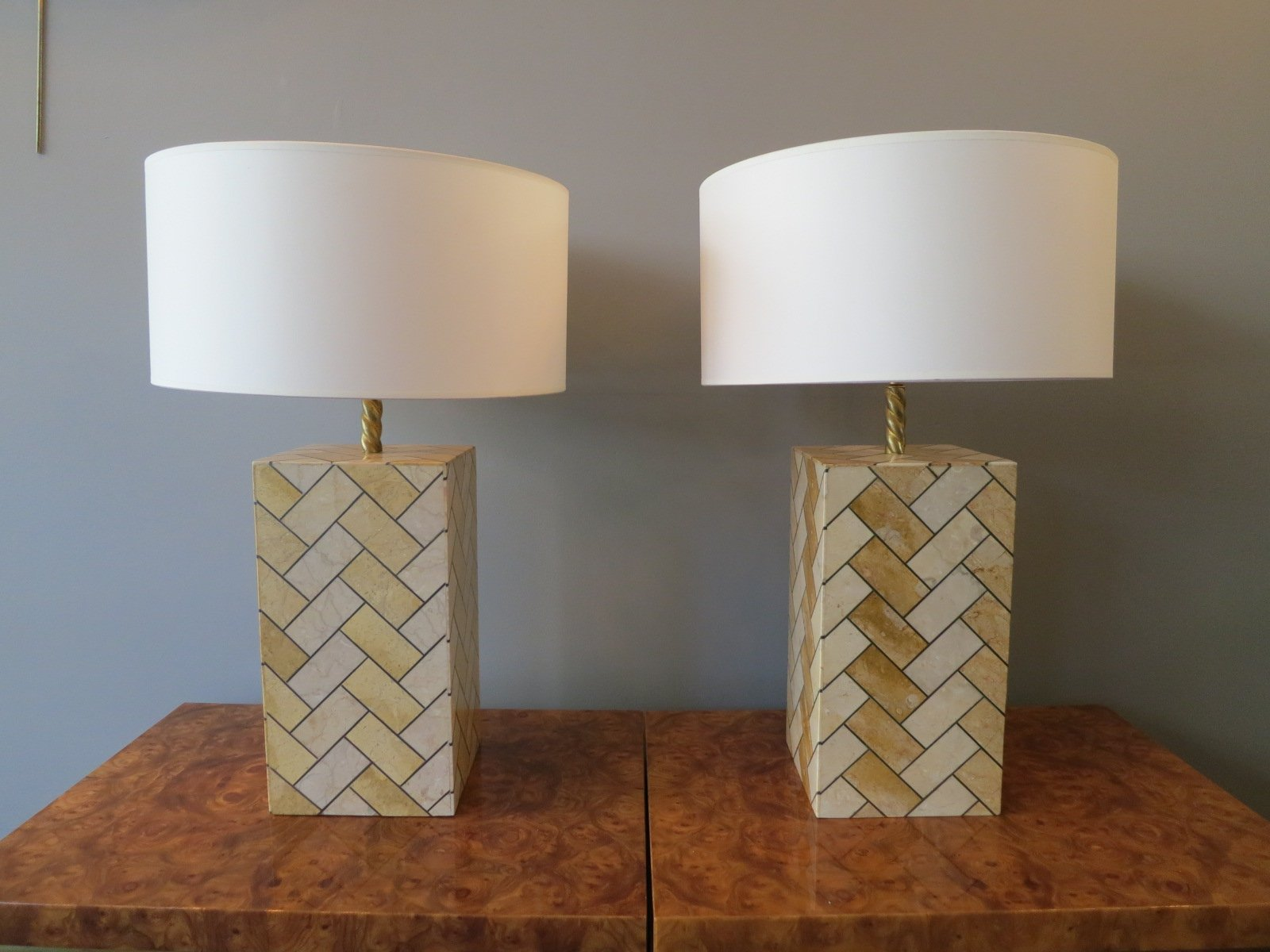 Tall vintage marble and brass table lamps set of 2 for sale at pamono tall vintage marble and brass table lamps set of 2 mozeypictures Images