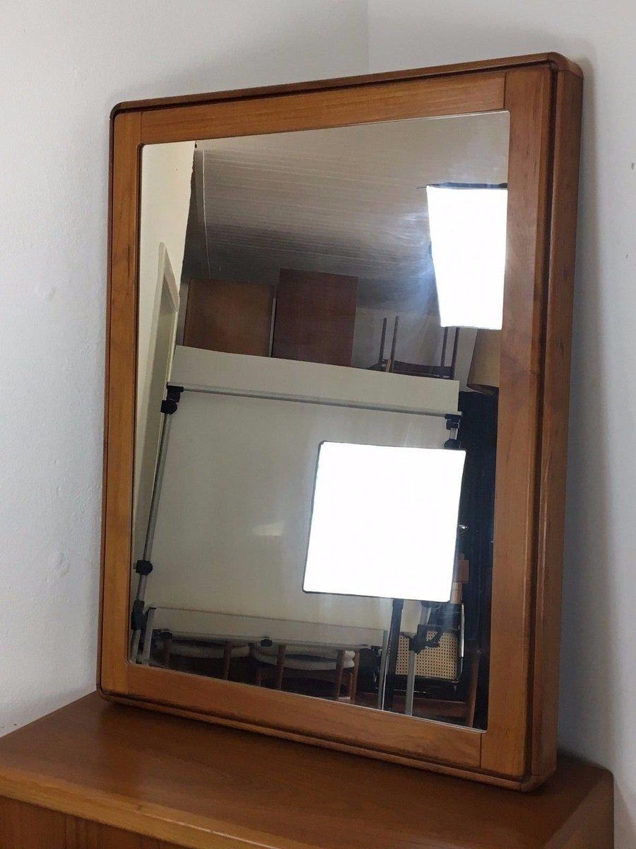 D nische teak kommode spiegel 1970er bei pamono kaufen - Spiegel uber kommode ...