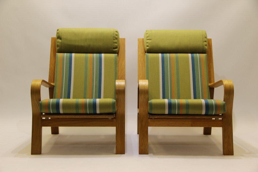 vintage modell ge671 sessel von hans j wegner f r getama. Black Bedroom Furniture Sets. Home Design Ideas