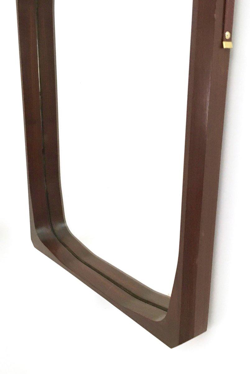 italienischer rechteckiger vintage wandspiegel mit rahmen. Black Bedroom Furniture Sets. Home Design Ideas