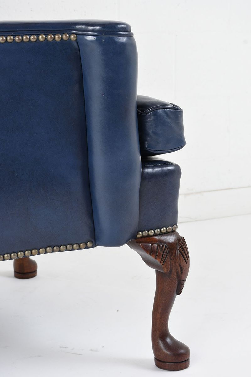 Wing Back Leather Chair, 1970s 8. $2,145.00. Price Per Piece