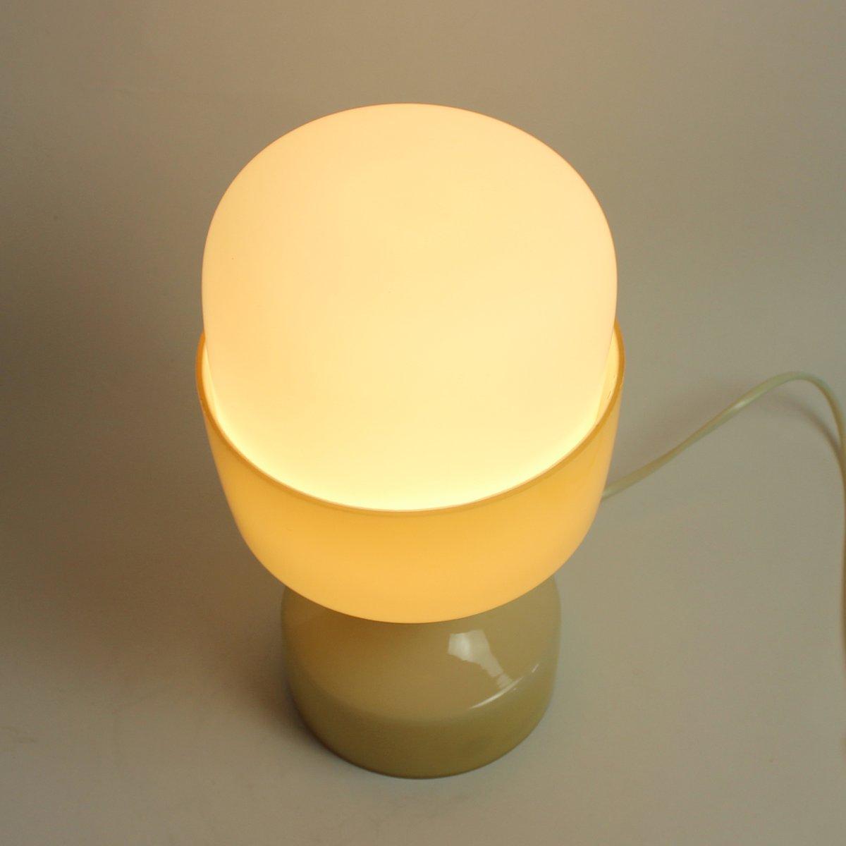 vintage cremefarbene glas lampe von ivan jakes f r osv tlovac sklo 1970er bei pamono kaufen. Black Bedroom Furniture Sets. Home Design Ideas