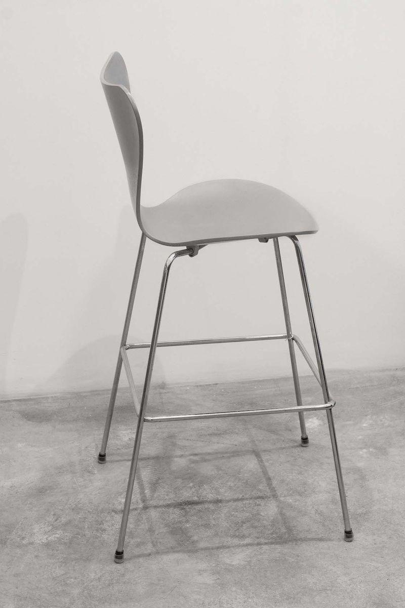 vintage barhocker von arne jacobsen f r fritz hansen 2er set bei pamono kaufen. Black Bedroom Furniture Sets. Home Design Ideas