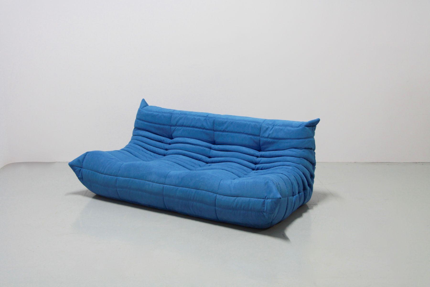 t rkise vintage togo sitzgarnitur von michel ducaroy f r ligne roset bei pamono kaufen. Black Bedroom Furniture Sets. Home Design Ideas