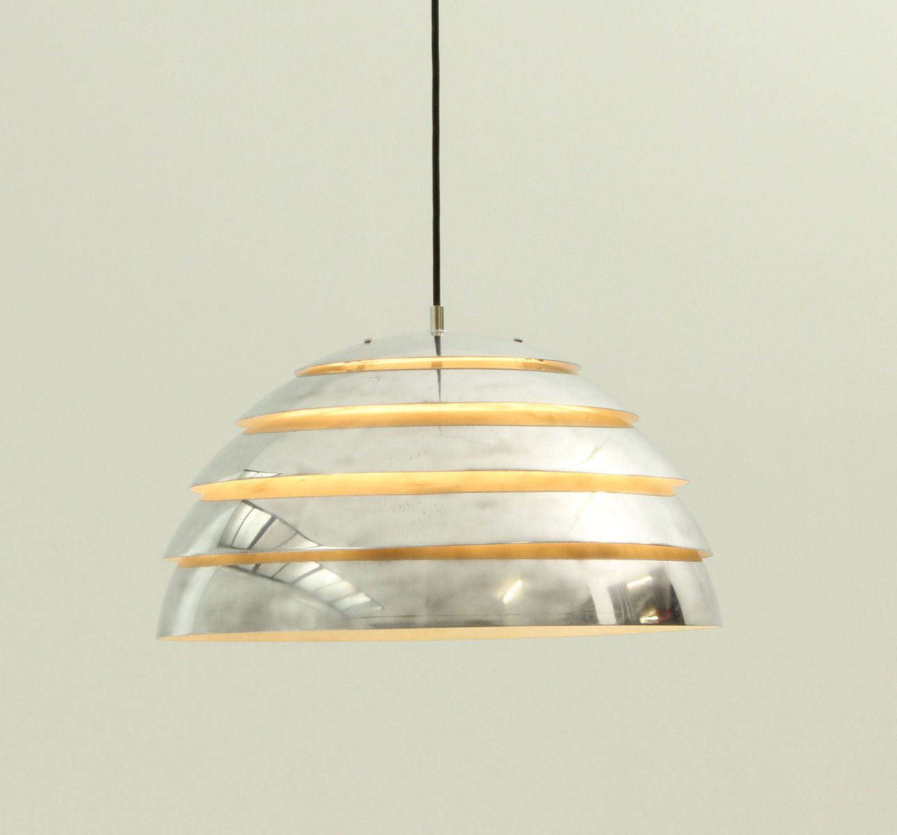 dome pendant lamp by hans agne jakobsson for markaryd. Black Bedroom Furniture Sets. Home Design Ideas