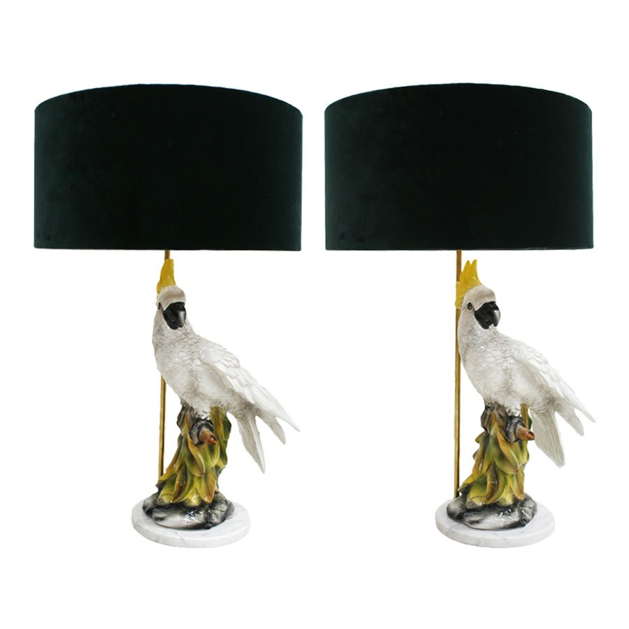 Capodimonte Table Lamps, 1950s, Set Of 2