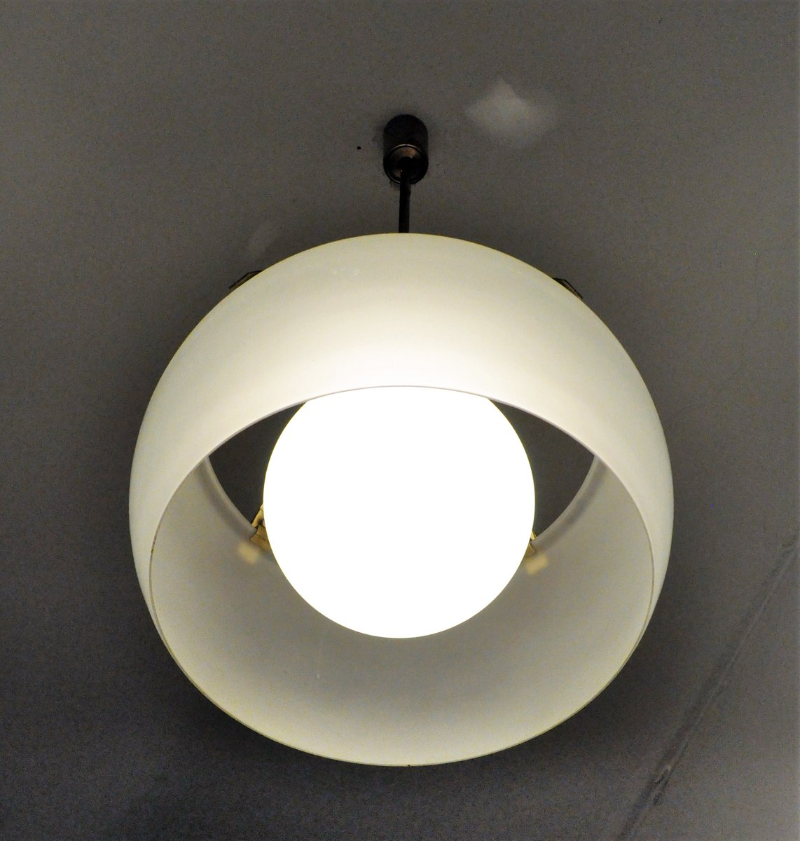 Omega pendant light by vico magistretti for artemide 1960s for sale price per piece mozeypictures Choice Image