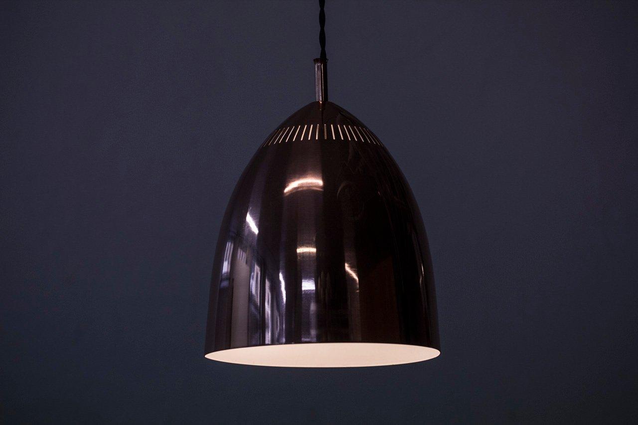 schwedische kupfer h ngelampe von asea 1960er bei pamono kaufen. Black Bedroom Furniture Sets. Home Design Ideas