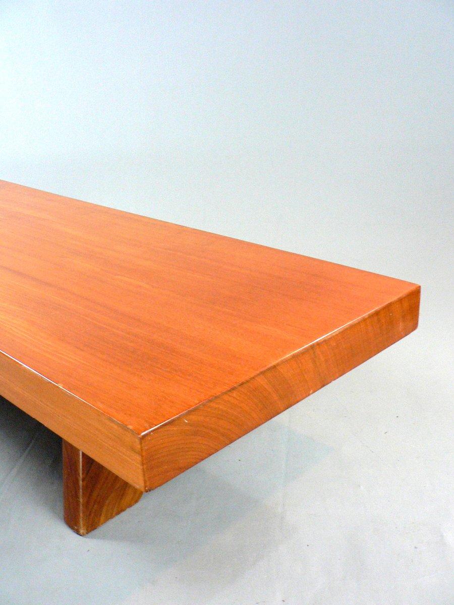 vintage couchtisch aus massivholz bei pamono kaufen. Black Bedroom Furniture Sets. Home Design Ideas