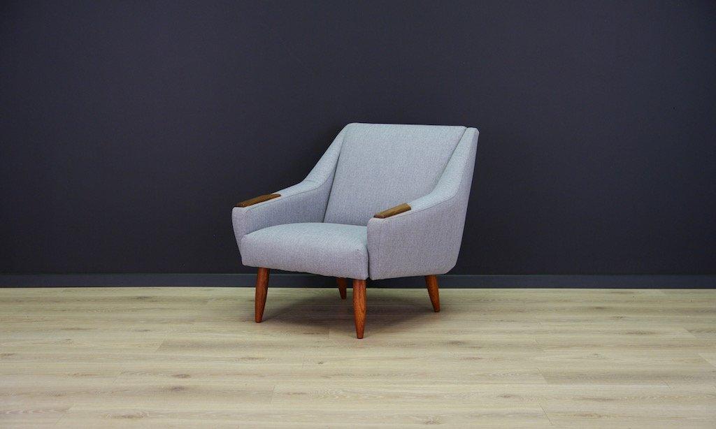 d nischer mid century teak sessel bei pamono kaufen. Black Bedroom Furniture Sets. Home Design Ideas