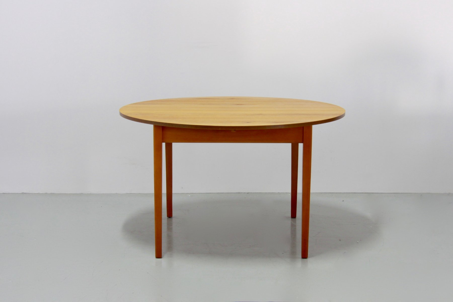 Vintage Danish Extendable Teak Dining Table 1960s For Sale At Pamono