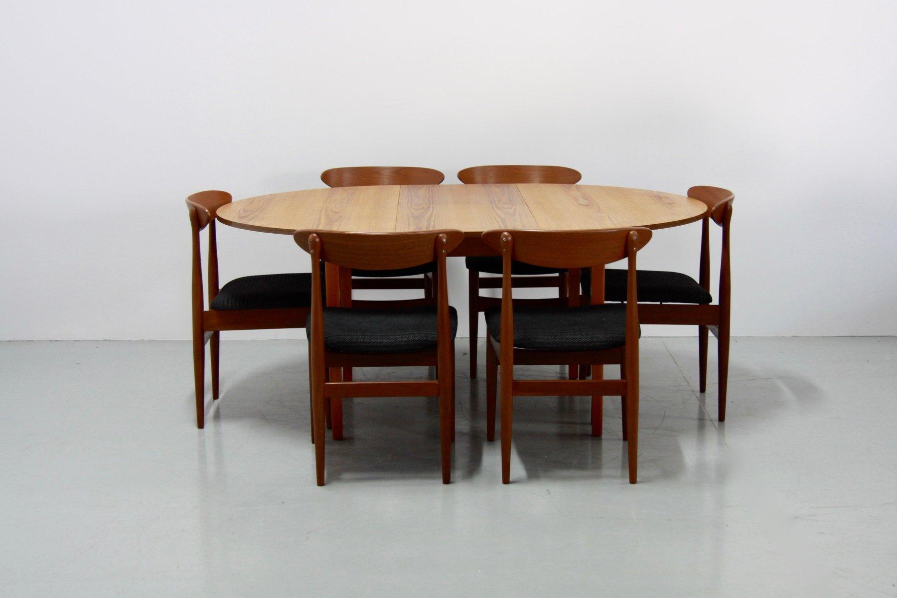Superb Vintage Danish Extendable Teak Dining Table, 1960s