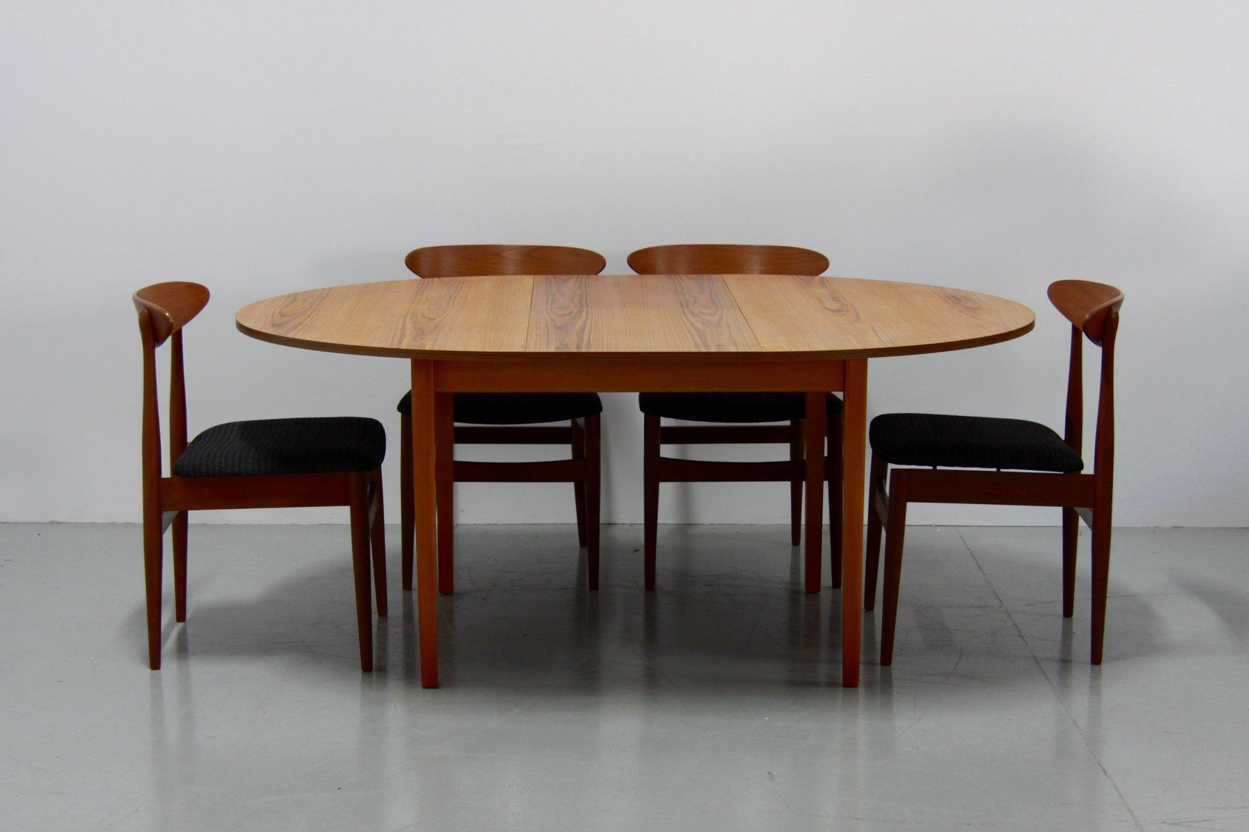 Teak Kitchen Table Vintage danish extendable teak dining table 1960s for sale at pamono vintage danish extendable teak dining table 1960s workwithnaturefo