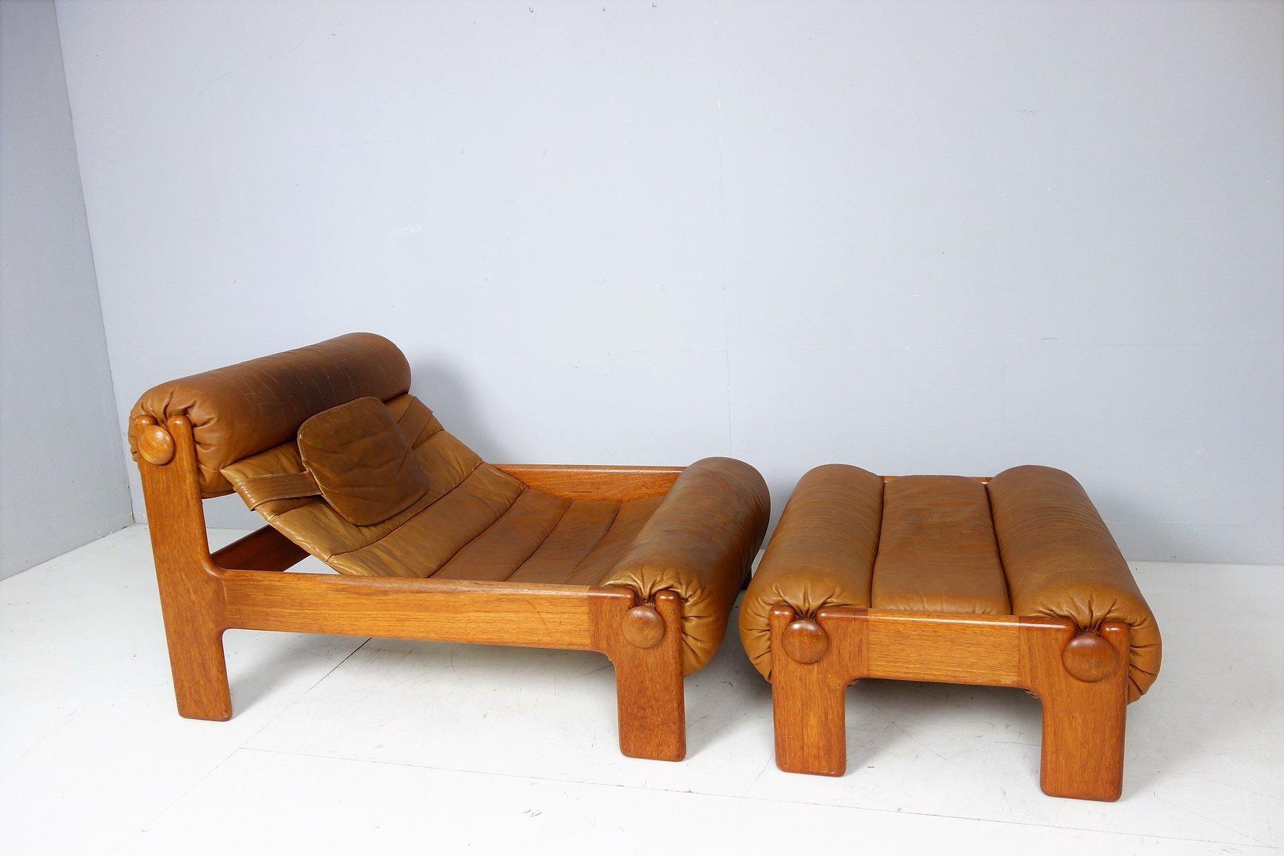 Captivating Vintage Swedish Lounge Chair U0026 Ottoman, 1960s