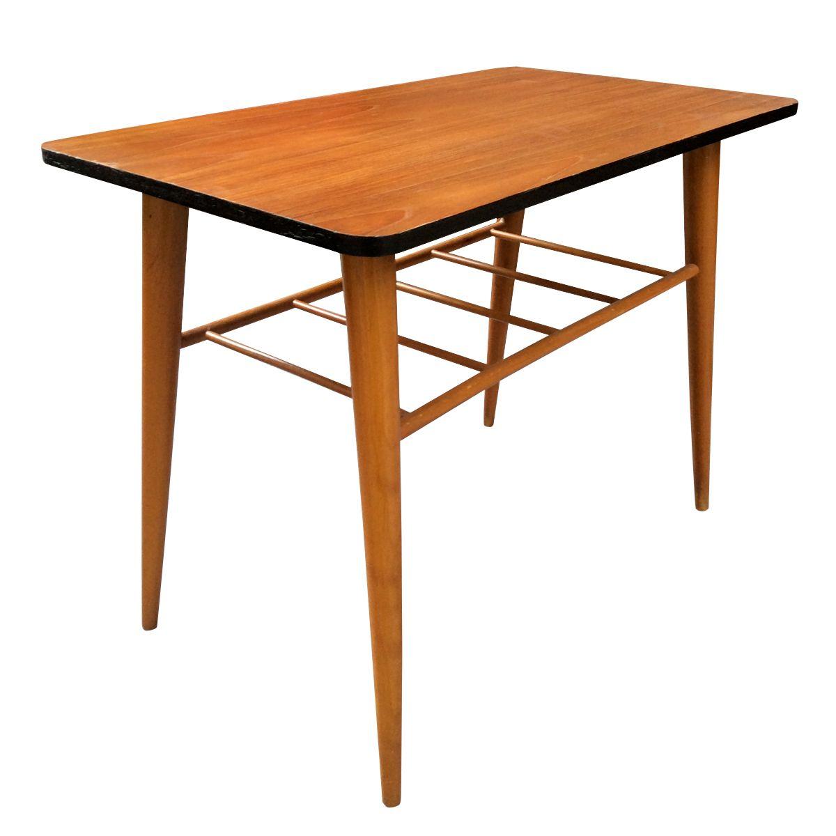 schwedischer teak beistelltisch 1960er bei pamono kaufen. Black Bedroom Furniture Sets. Home Design Ideas