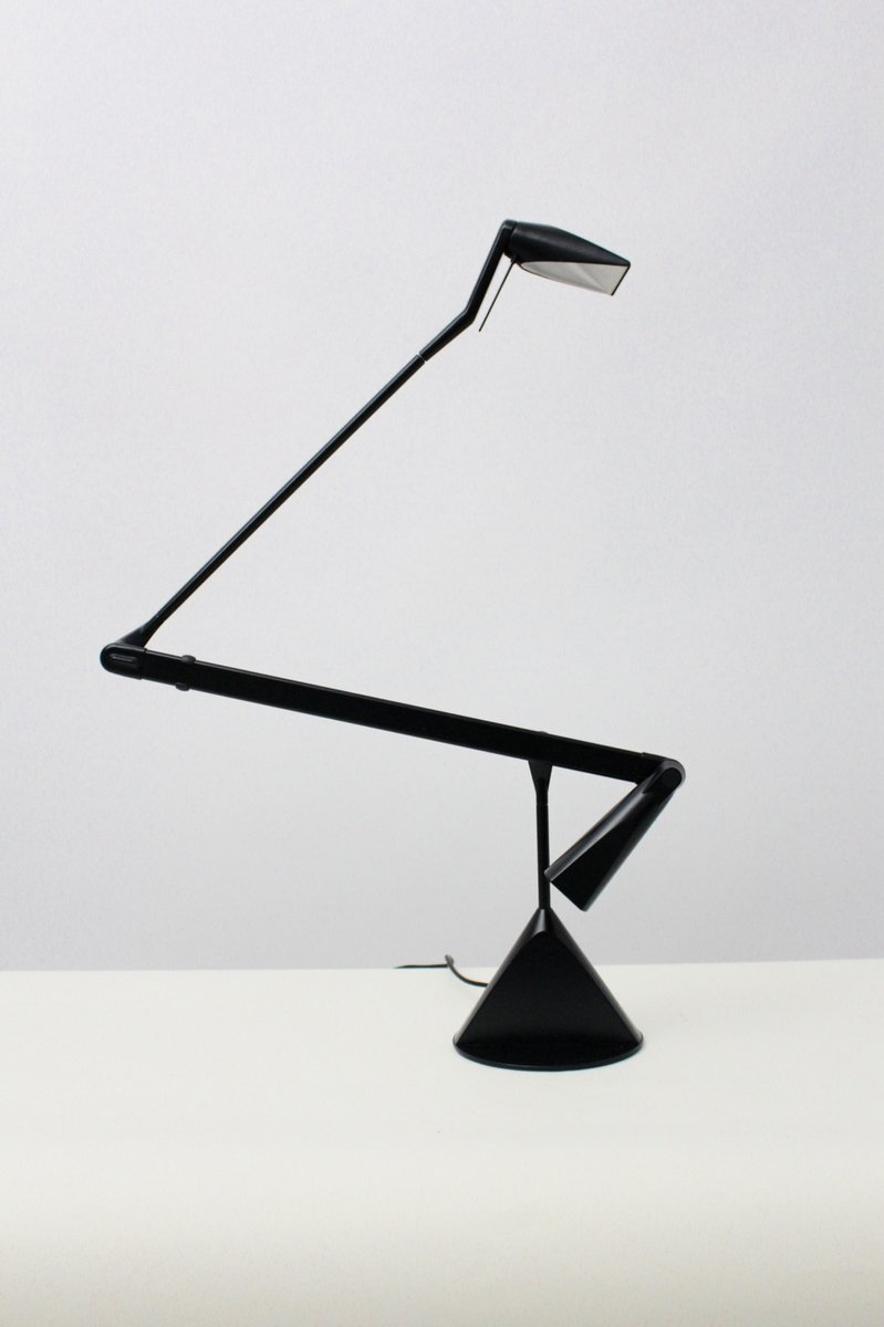 lampe de bureau d architecte zelig par walter a monici pour lumina 1980s en vente sur pamono. Black Bedroom Furniture Sets. Home Design Ideas