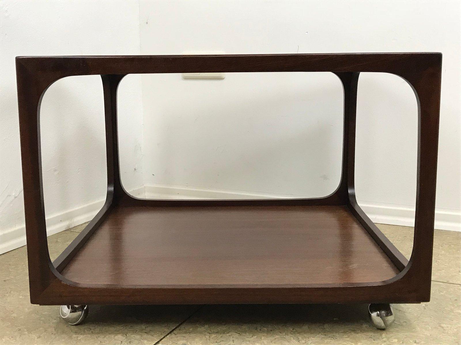 couchtisch aus glas und mahagoni von wilhelm renz 1960er bei pamono kaufen. Black Bedroom Furniture Sets. Home Design Ideas