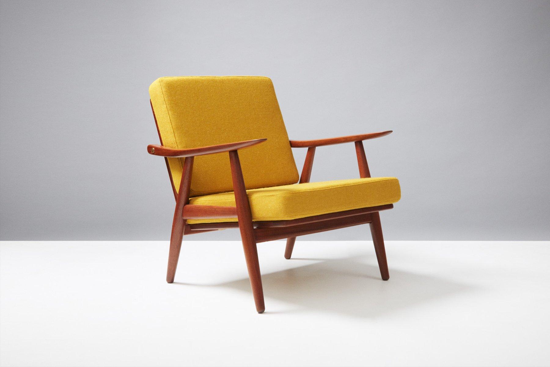 GE 270 Teak Lounge Chair By Hans Wegner For Getama, 1950s