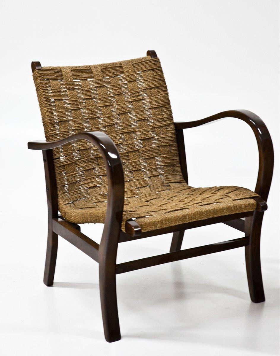 deutscher bauhaus armlehnstuhl 1930er bei pamono kaufen. Black Bedroom Furniture Sets. Home Design Ideas