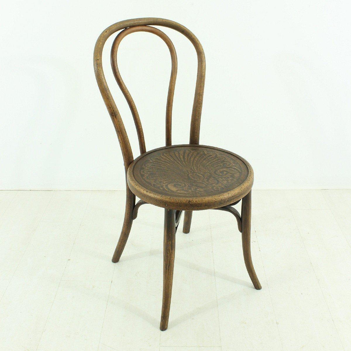 antiker jugendstil stuhl 1900er bei pamono kaufen. Black Bedroom Furniture Sets. Home Design Ideas