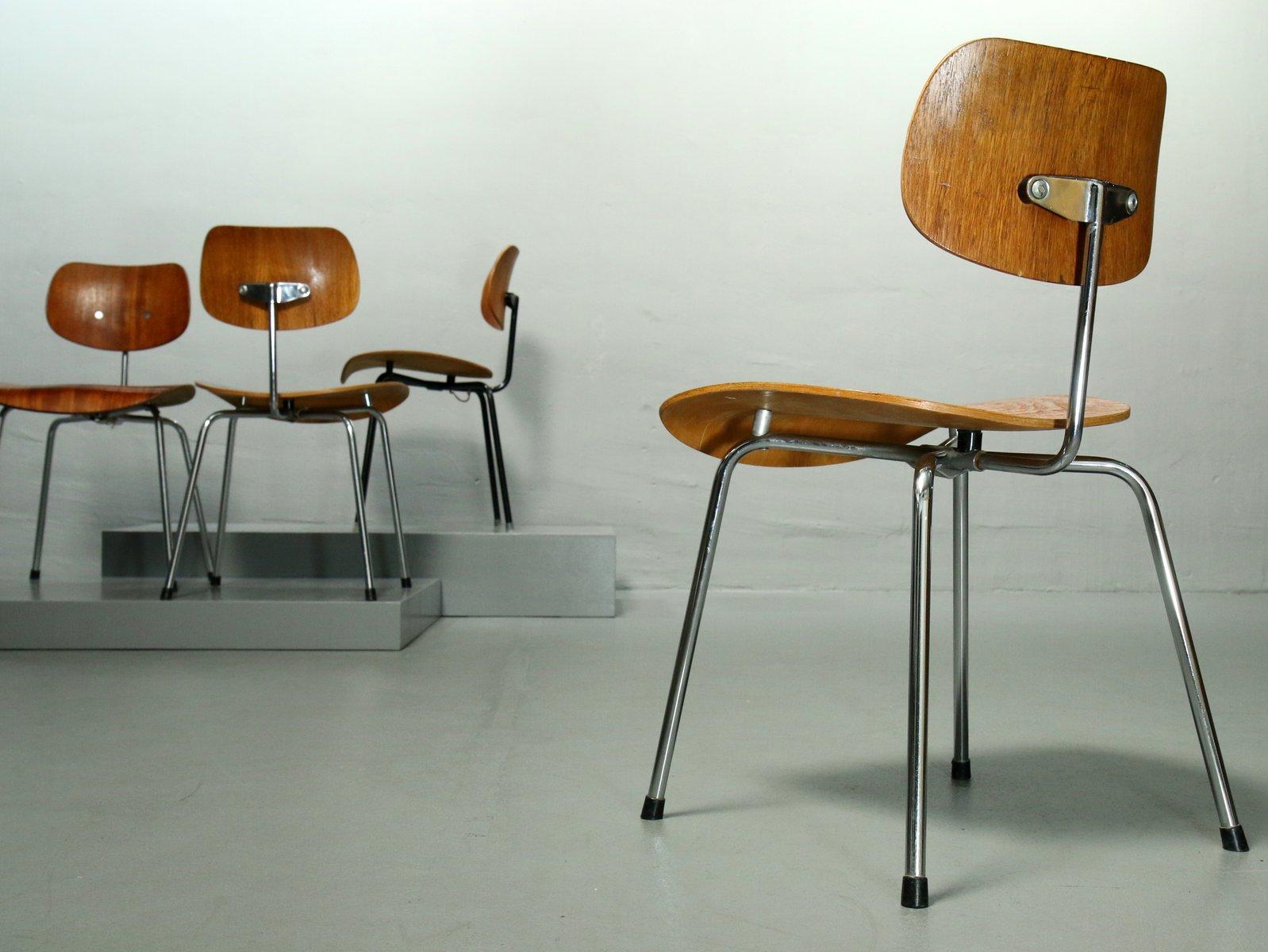 se 68 walnuss furnier stuhl von egon eiermann f r wilde. Black Bedroom Furniture Sets. Home Design Ideas