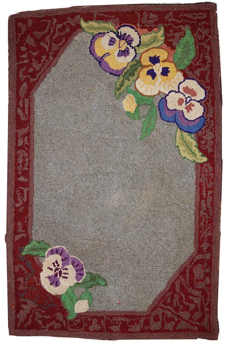 handgekn pfter amerikanischer teppich 1920er bei pamono kaufen. Black Bedroom Furniture Sets. Home Design Ideas