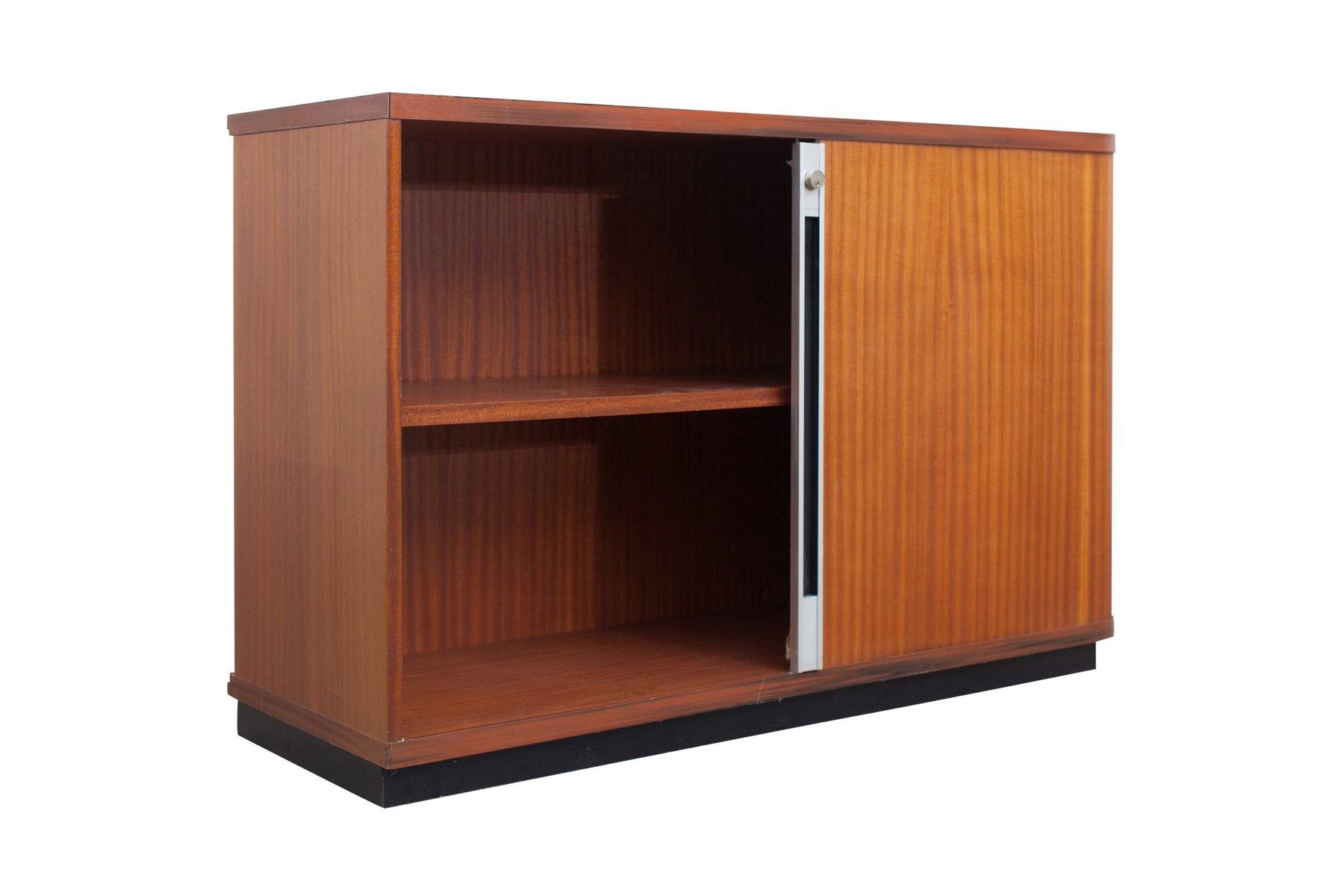 Libreria Ufficio Con Ante : Mobili vintage da ufficio con ante scorrevoli set di in vendita