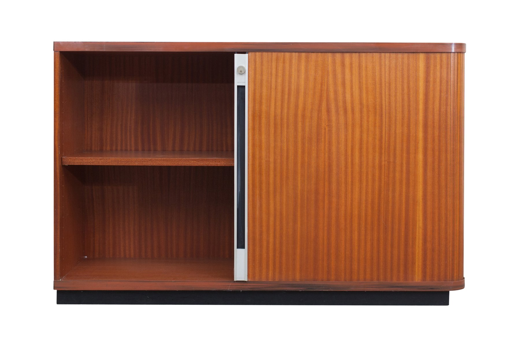 cupboard office. Vintage Office Cabinets With Tambour Doors, Set Of 2 Cupboard