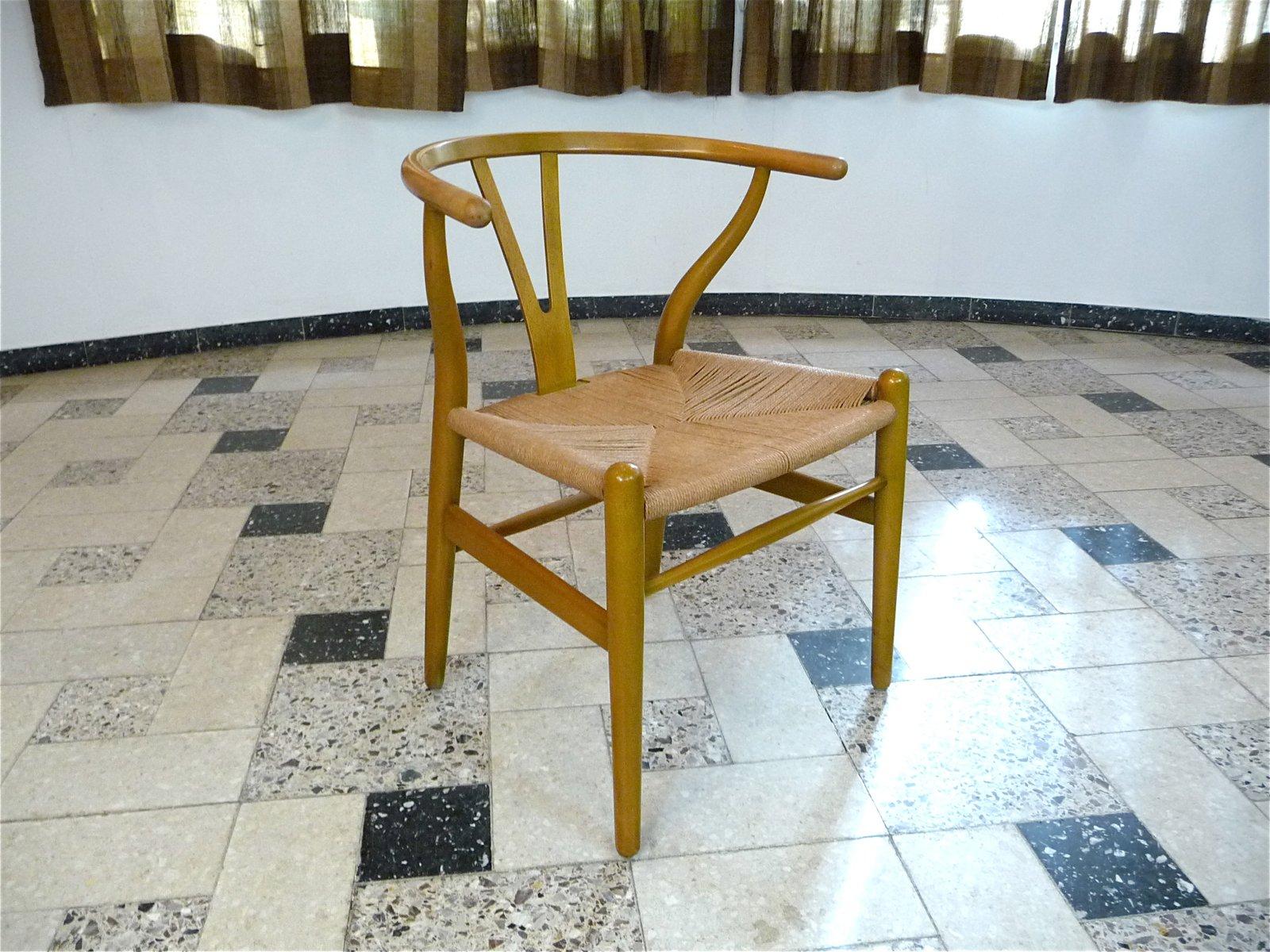 CH 24 Wishbone Chairs By Hans J. Wegner For Carl Hansen U0026 Søn, 1950s, Set  Of 6