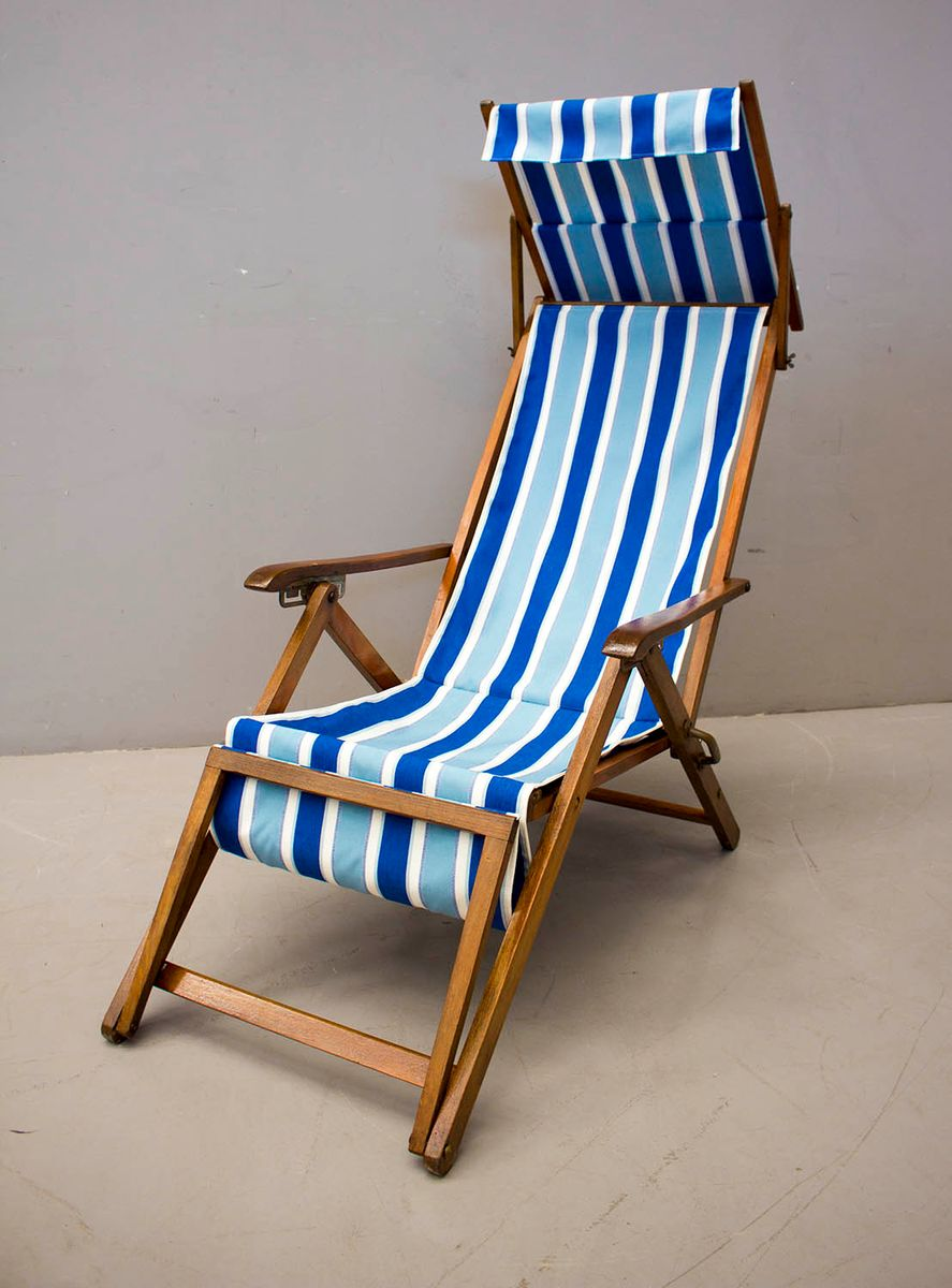 Deckchair from Fratelli Reguitti, 1950s for sale at Pamono