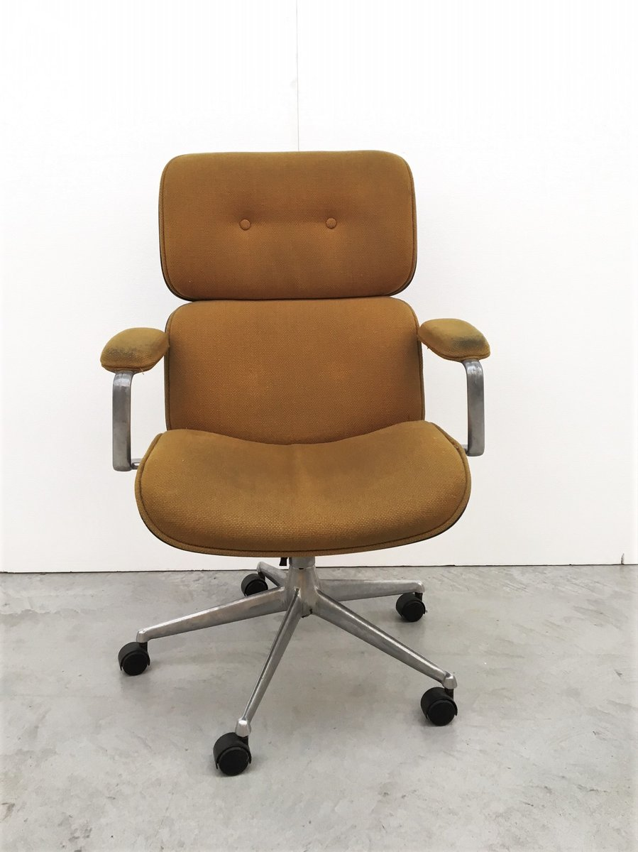 Vintage Office Armchair By Ico Parisi For MIM For Sale At Pamono
