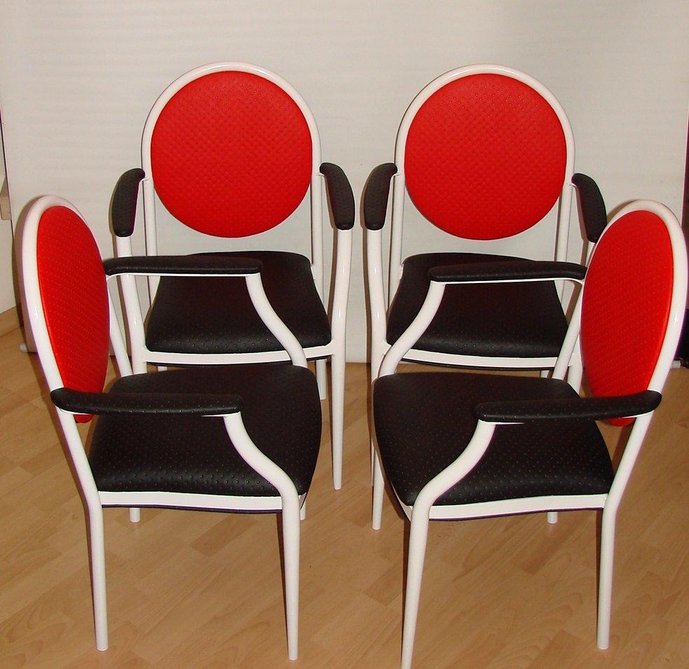 franz sische st hle von souvignet plichanse 1970er 4er set bei pamono kaufen. Black Bedroom Furniture Sets. Home Design Ideas