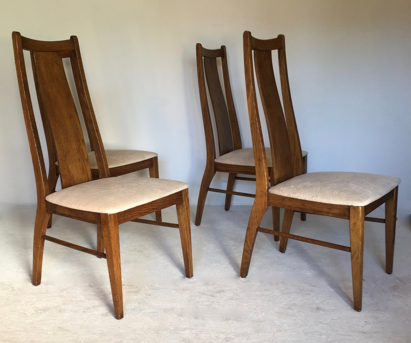 American Chairs From Garrison Furniture Company, 1960s, Set Of 4