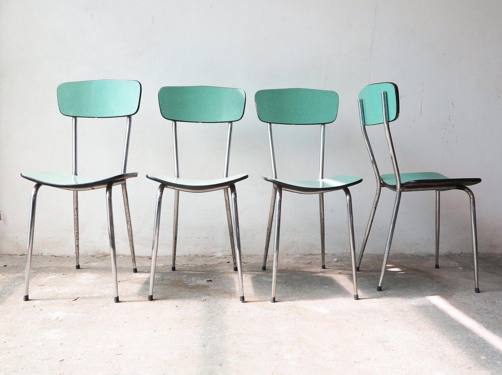 formica st hle 1950er 4er set bei pamono kaufen. Black Bedroom Furniture Sets. Home Design Ideas
