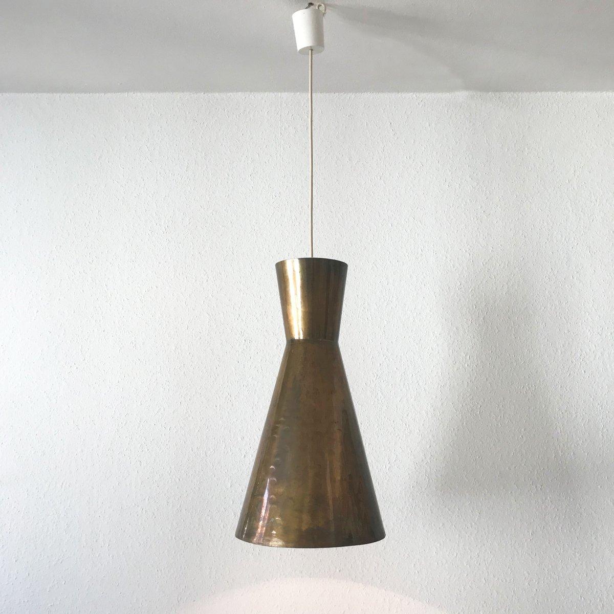 gro e mid century modern diabolo h ngelampen 1950er 3er. Black Bedroom Furniture Sets. Home Design Ideas