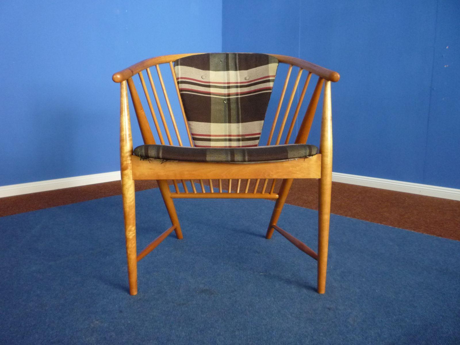 Sedia di Sonna Rosen per Nassjo Stolfabrik Sweden 1948 in vendita su Pamono