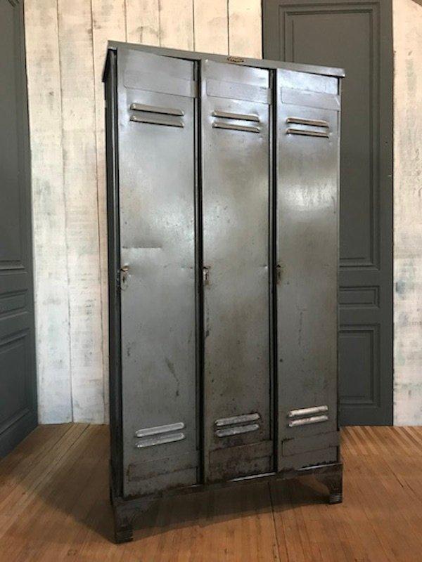Vintage Industrial Doors For Sale : Vintage door industrial locker from strafor for sale at