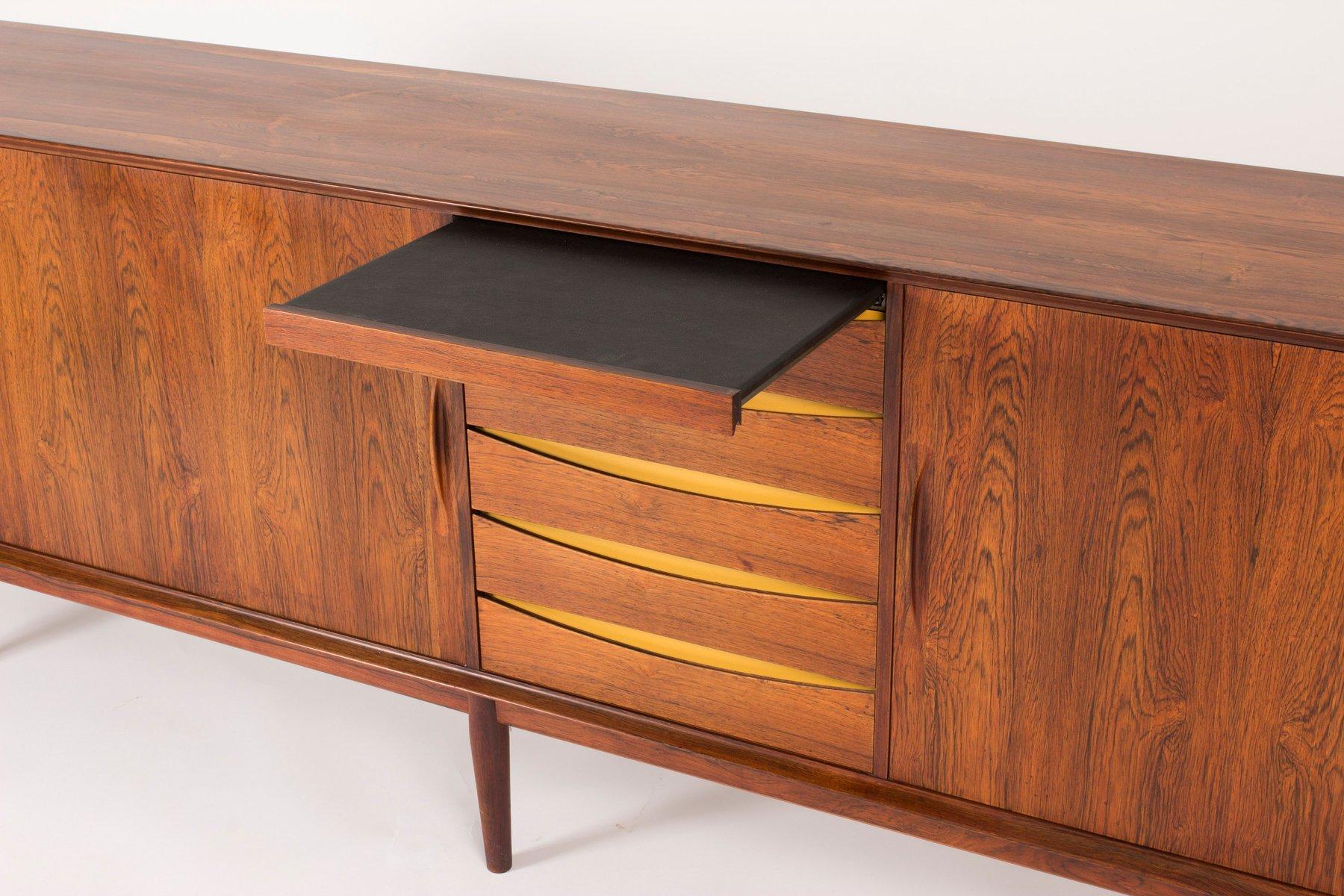 rosewood sideboard by arne vodder for sibast 1950s for sale at pamono. Black Bedroom Furniture Sets. Home Design Ideas