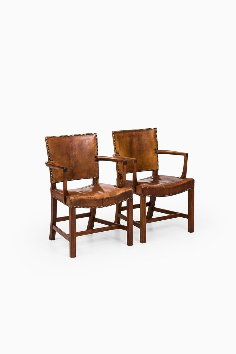 Vintage Model 3758a Armchairs By Kaare Klint For Rud