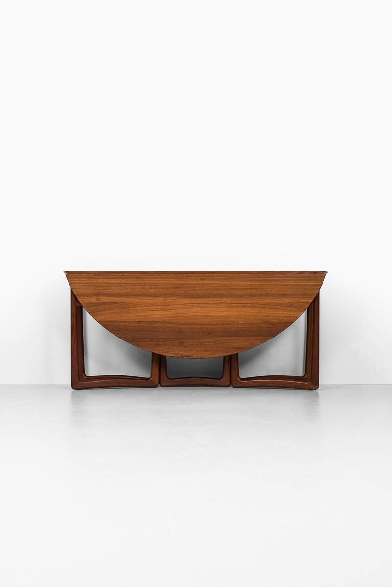 Danish Drop Leaf Dining Table By Peter Hvidt U0026 Orla Mølgaard Nielsen For  France U0026 Son, 1950s