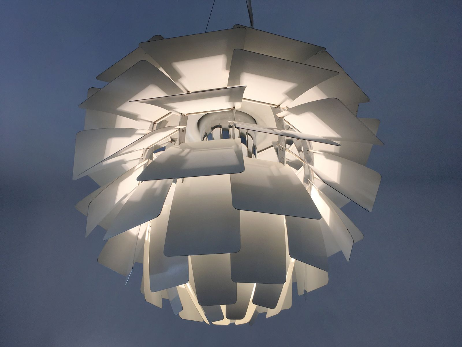 Vintage Artichoke Lamp By Poul Henningsen For Louis Poulsen