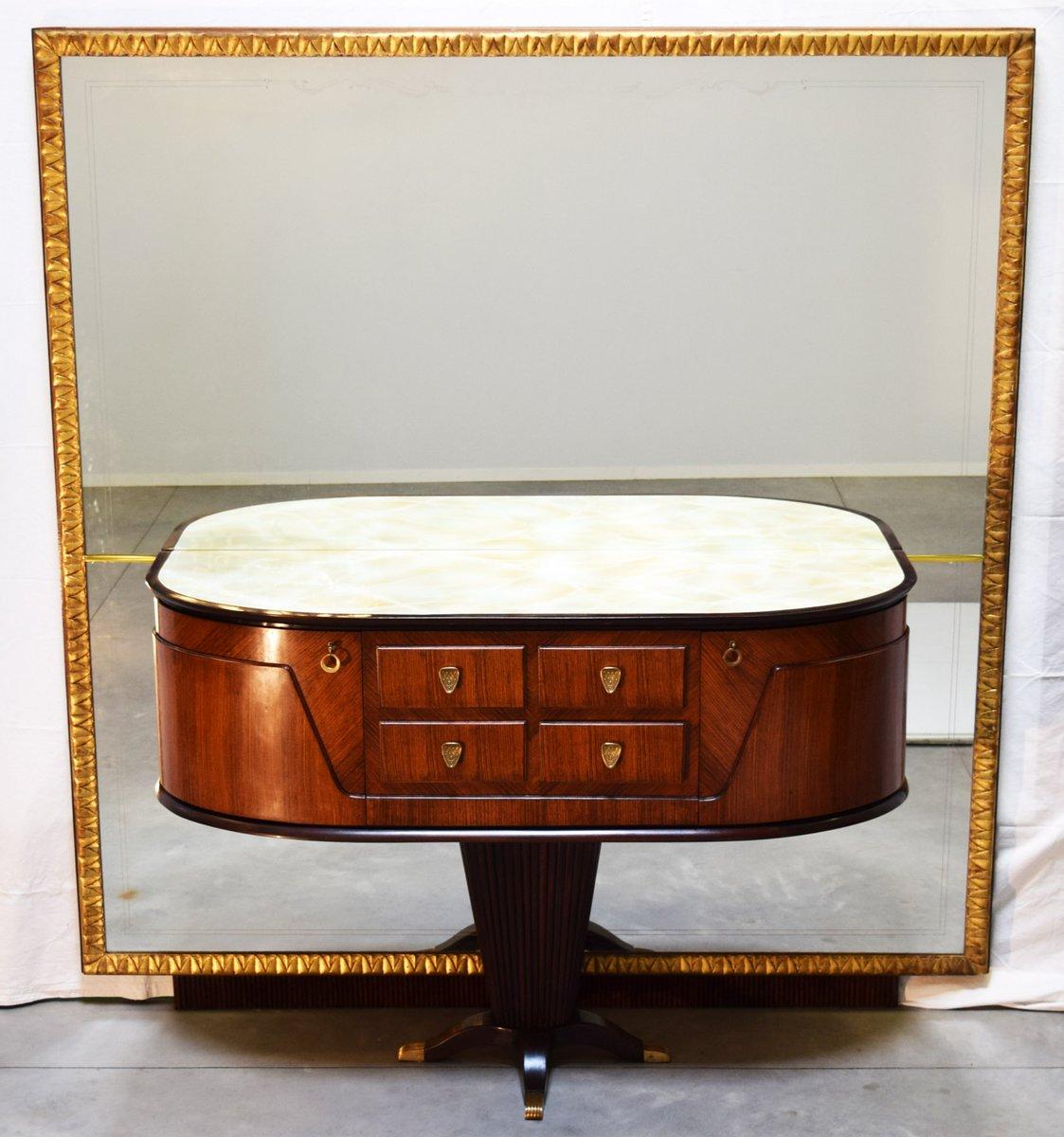 Consolle con specchio di rima italia anni 39 50 in vendita - Specchio anni 50 ...