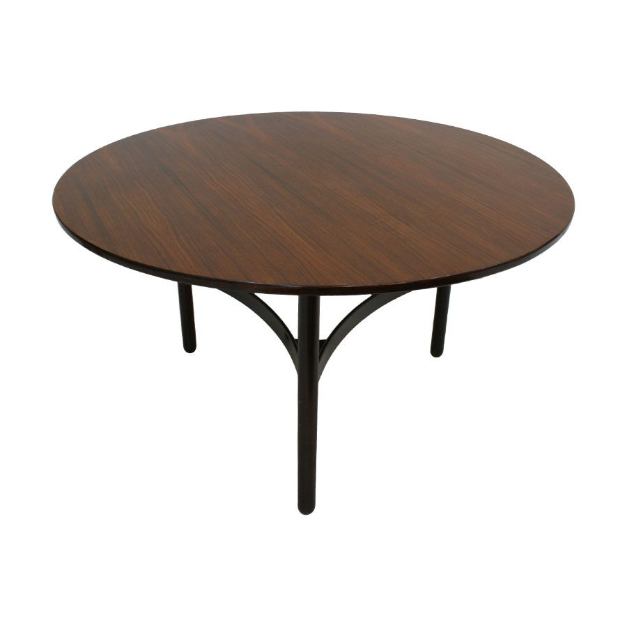 palisander esstisch von gianfranco frattini f r cassina 1960er bei pamono kaufen. Black Bedroom Furniture Sets. Home Design Ideas