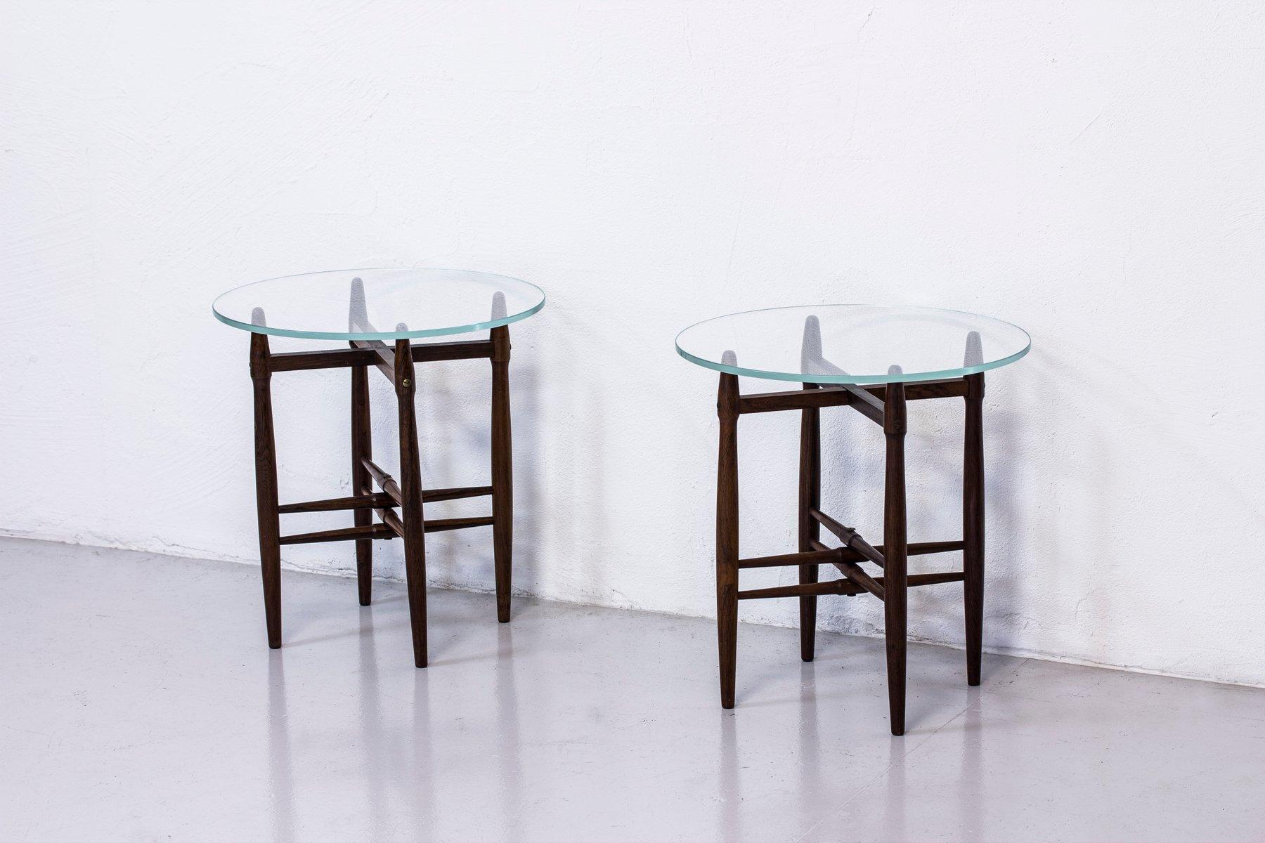 Tavolini in palissandro di poul hundevad per vamdrup anni for Tavolini anni 50